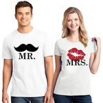 T-Shirt Couple Bouche | Concept Couple