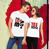 T-Shirt Couple Tu M'aime