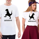 T-Shirt Couple Dinosaure