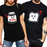 T-shirt Couple<br/> Drole