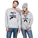 Pull couple<br/> Bonnie and Clyde