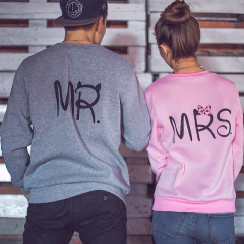Pull couple mr mrs