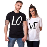t shirt couple love