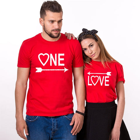 T-Shirt Couple Flèches