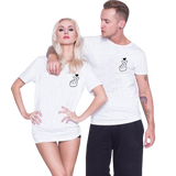 t-shirt unisex couple