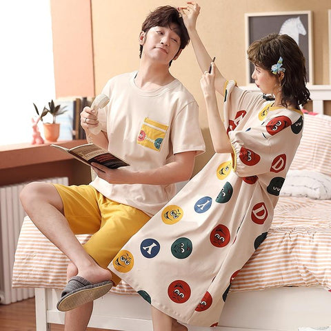 Pyjama Couple Emoji
