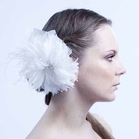 The Gwendolyn Bridal Fascinator Brooch by Love Charlie
