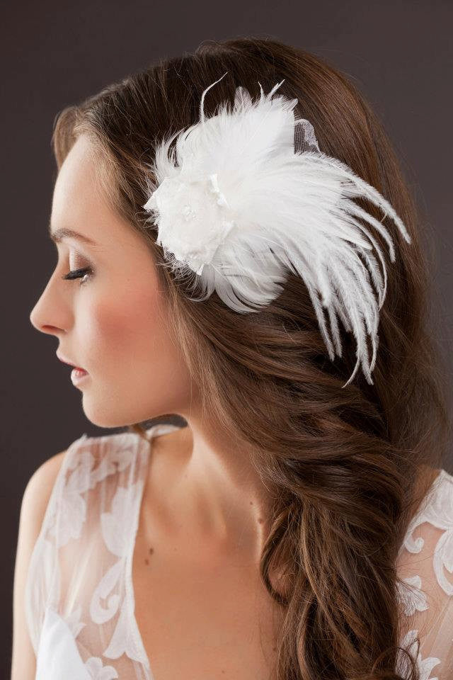 The Donna Bridal Headpiece/ Brooch by Love Charlie