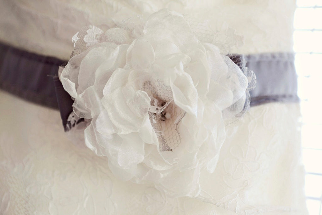 Monera Custom Bridal Sash by Love Charlie