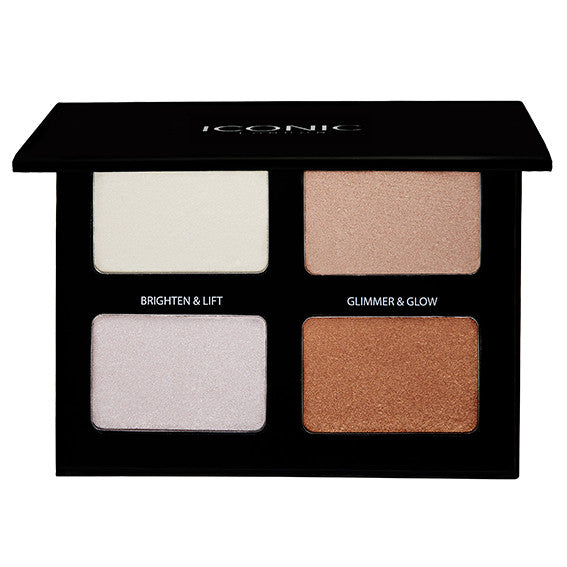 The Stroke Of Midnight Shimmer Palette