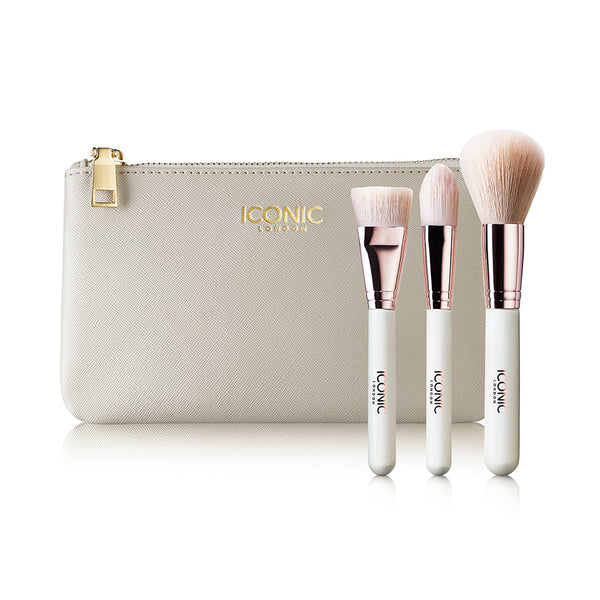 FACE BRUSH SET & BAG