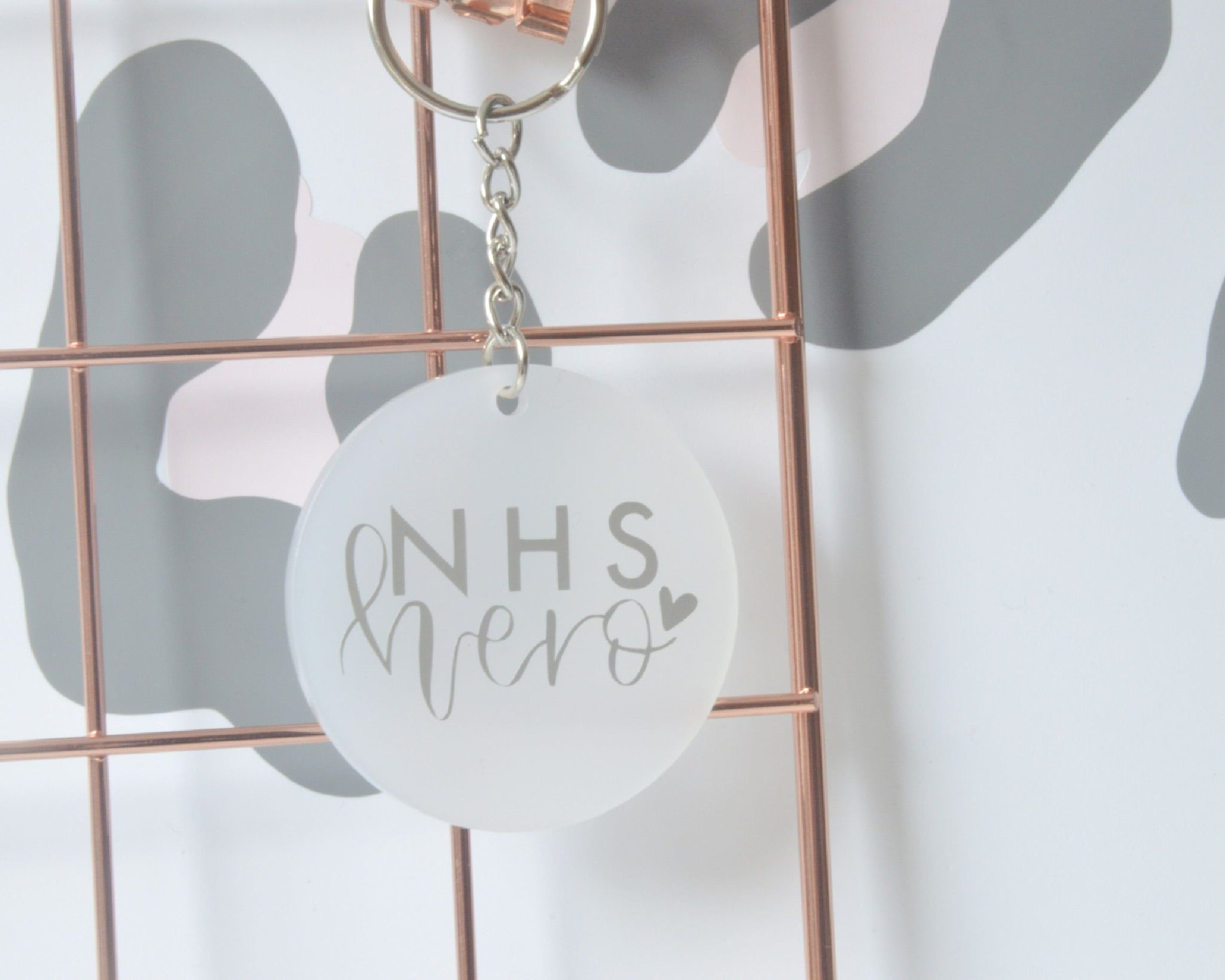 NHS Hero Keyring