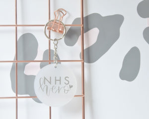 NHS Hero Keyring - You Make My Dreams