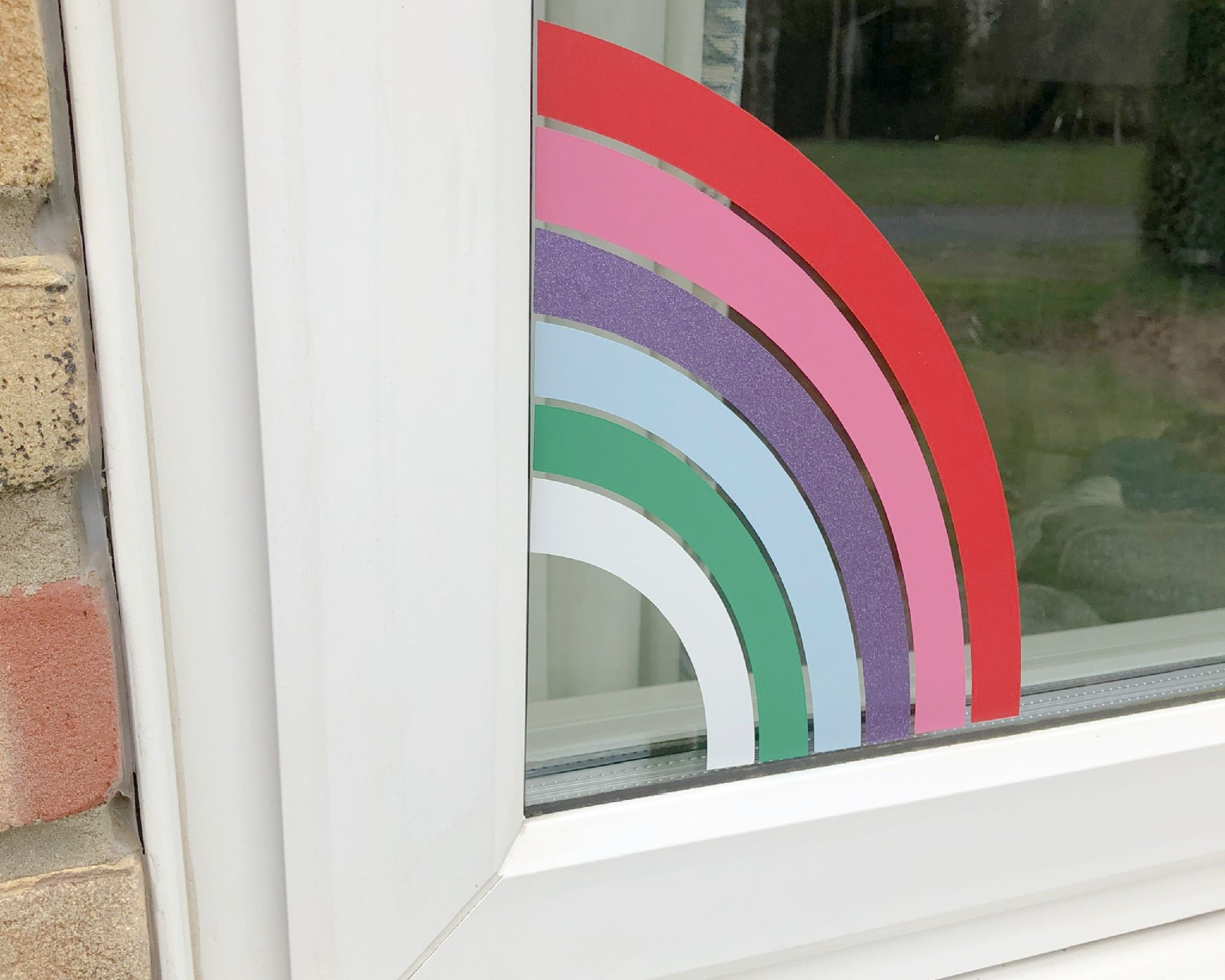 Rainbow Window Decal - You Make My Dreams