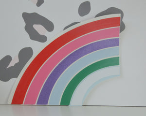 Rainbow Window Decal