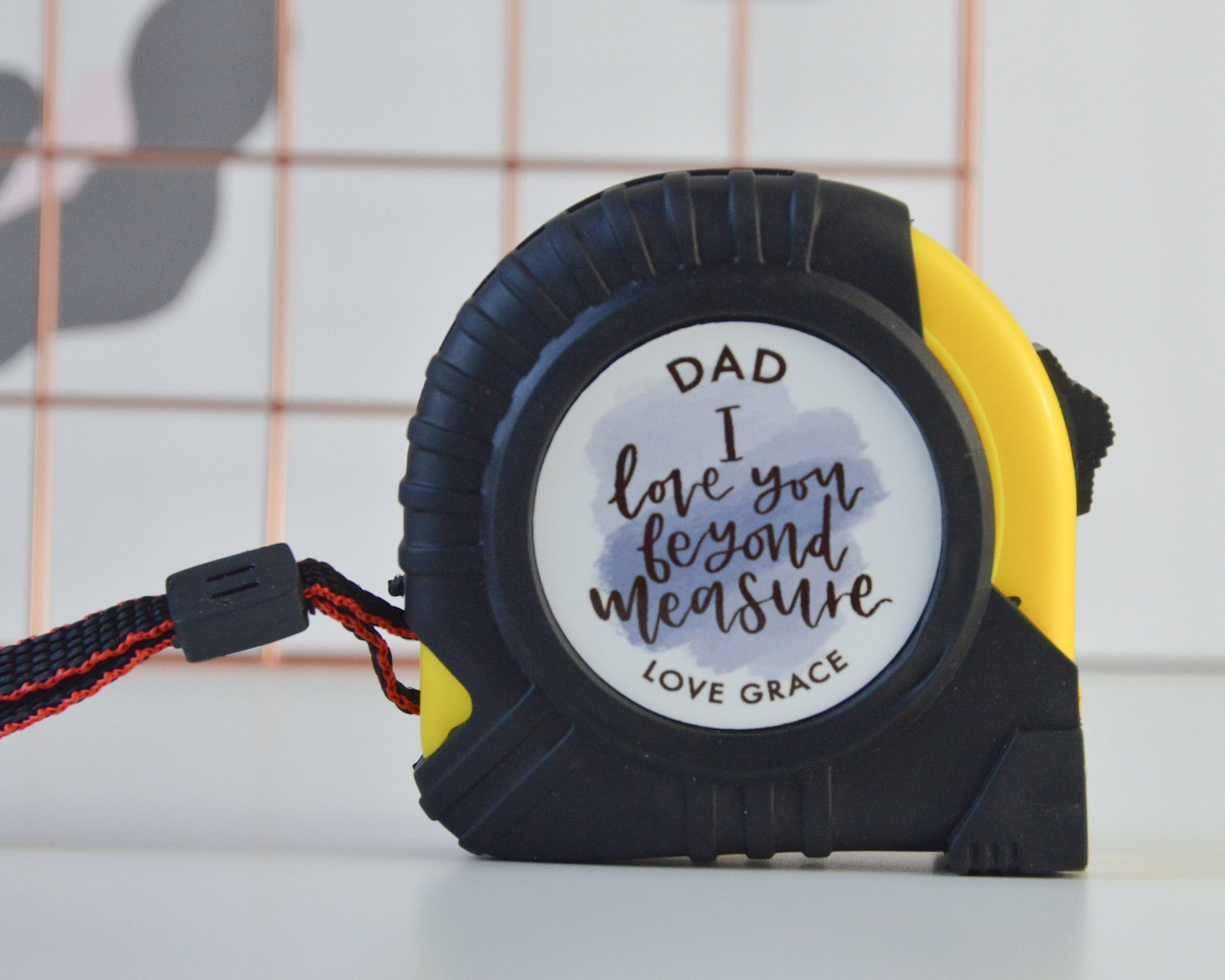 Personalised I Love You Beyond Measure Tape Measure - You Make My Dreams