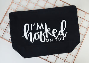'I'm Hooked On You' Knitting Pouch