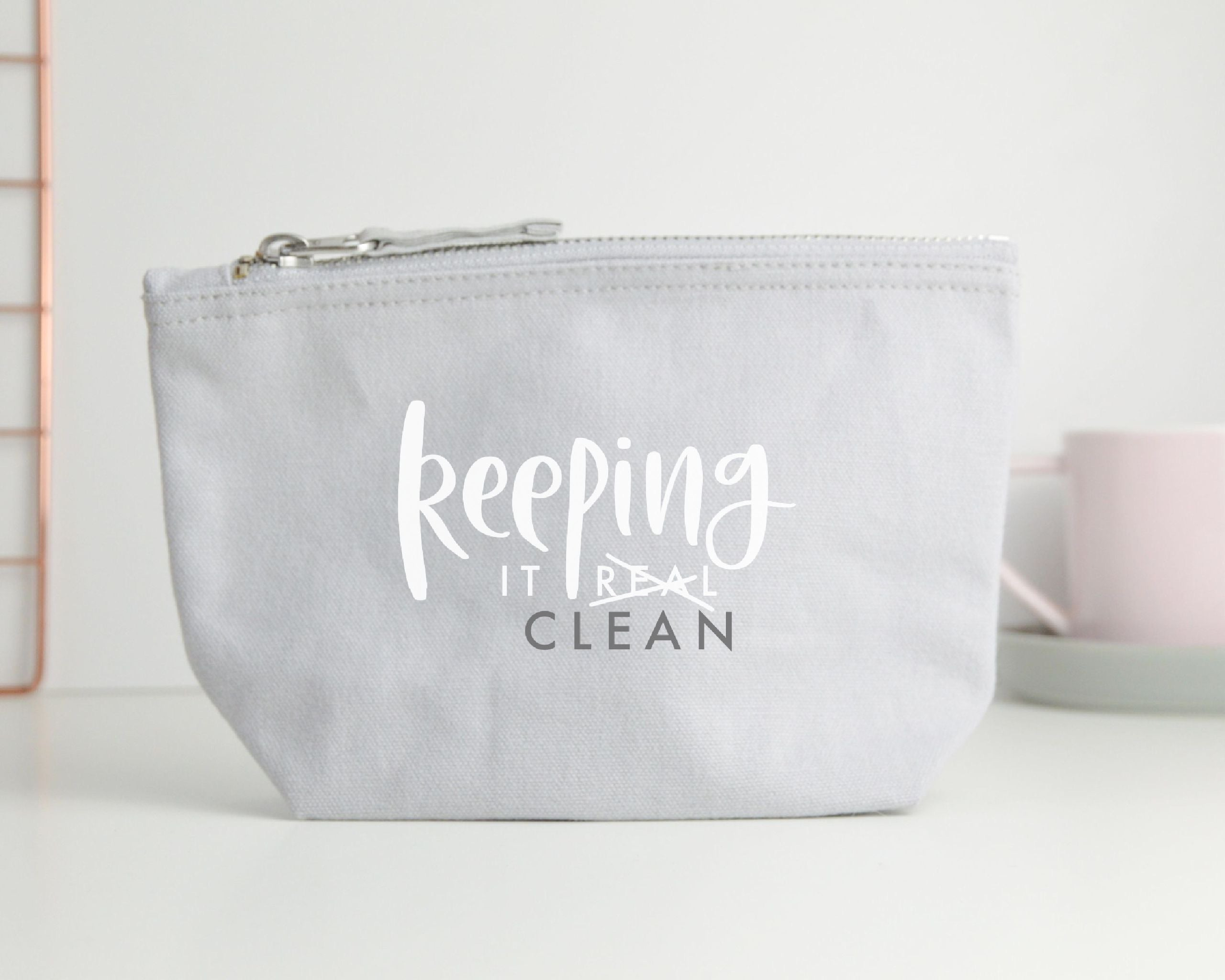Keeping It Clean Mask Pouch - You Make My Dreams