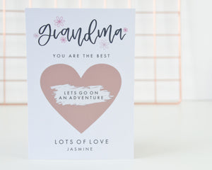 Grandma Scratch Card - You Make My Dreams