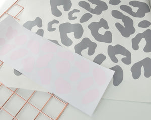 Leopard Print Wall Decals - You Make My Dreams