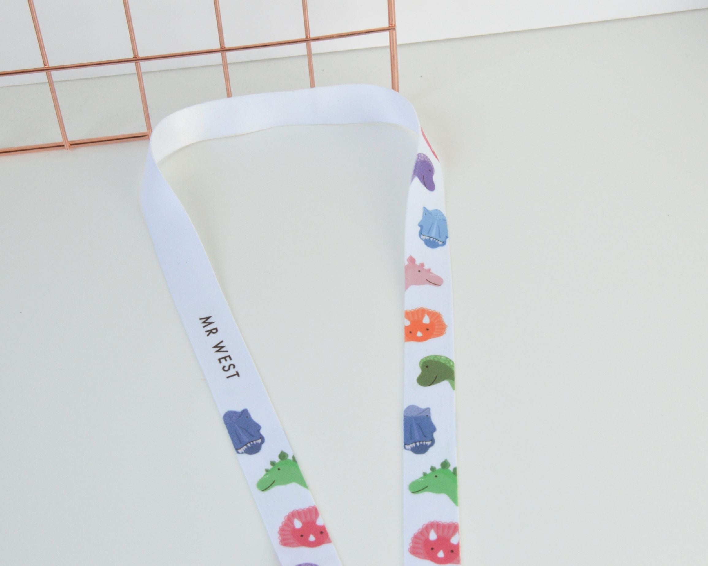 Personalised Dinosaur Lanyard - You Make My Dreams