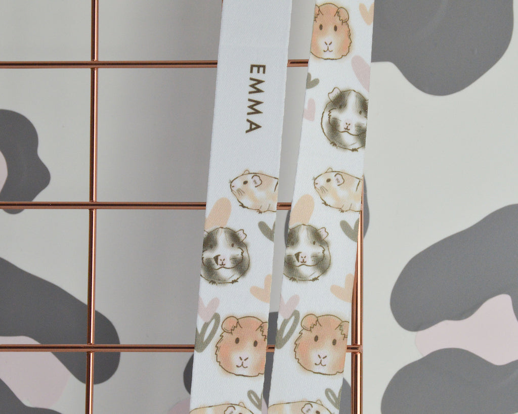 Guinea Pig Lanyard - You Make My Dreams