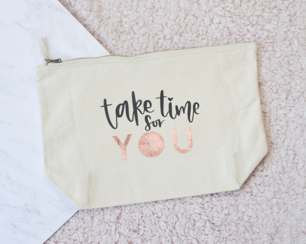 Take Time for You Pouch