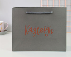 Small Personalised Name Gift Bag - You Make My Dreams