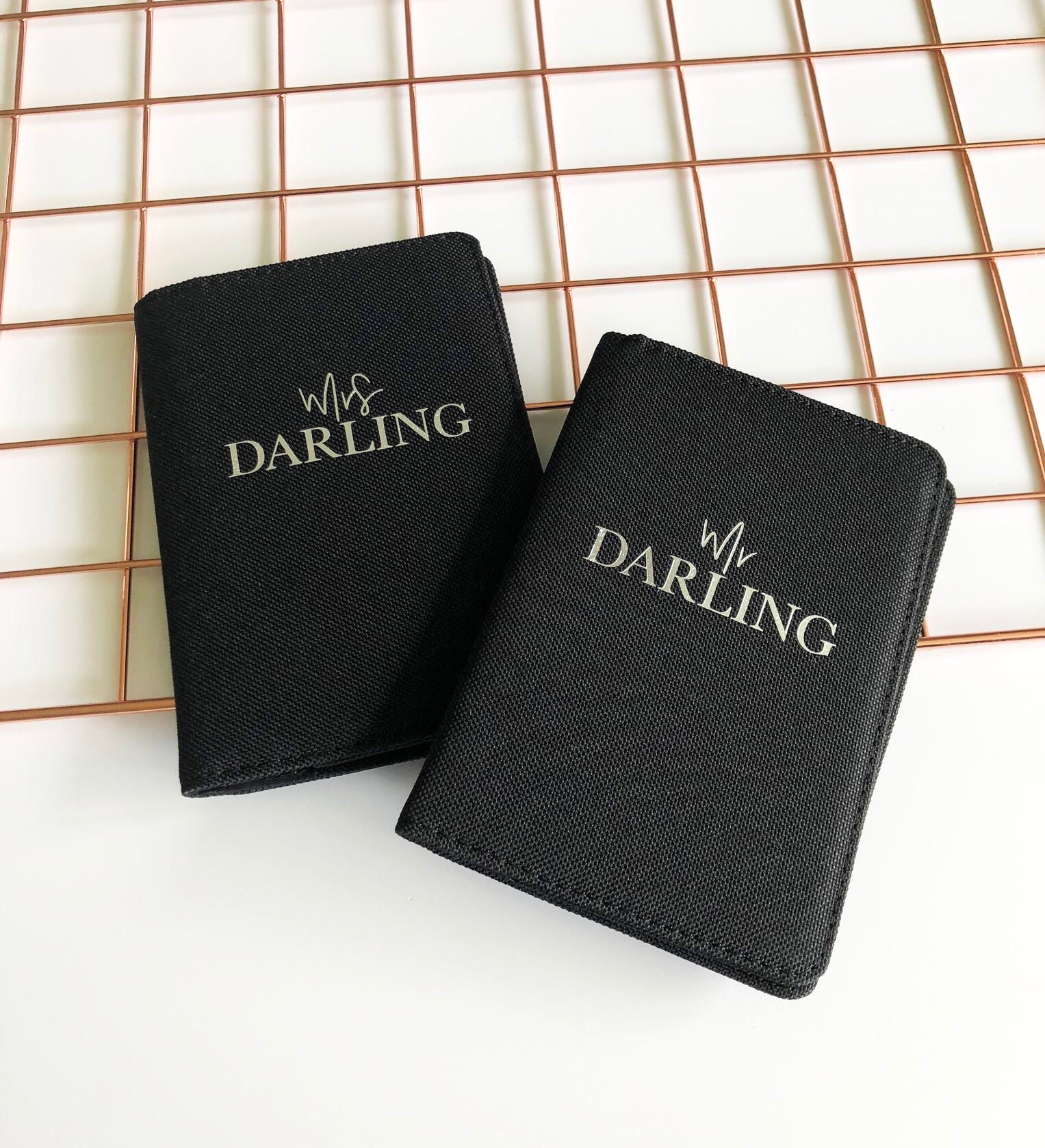 Mr & Mrs Passport Covers