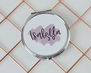Personalised Birthday Compact Mirror - You Make My Dreams