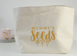 Seeds Fabric Basket - You Make My Dreams