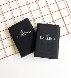 Mr & Mrs Passport Covers - You Make My Dreams