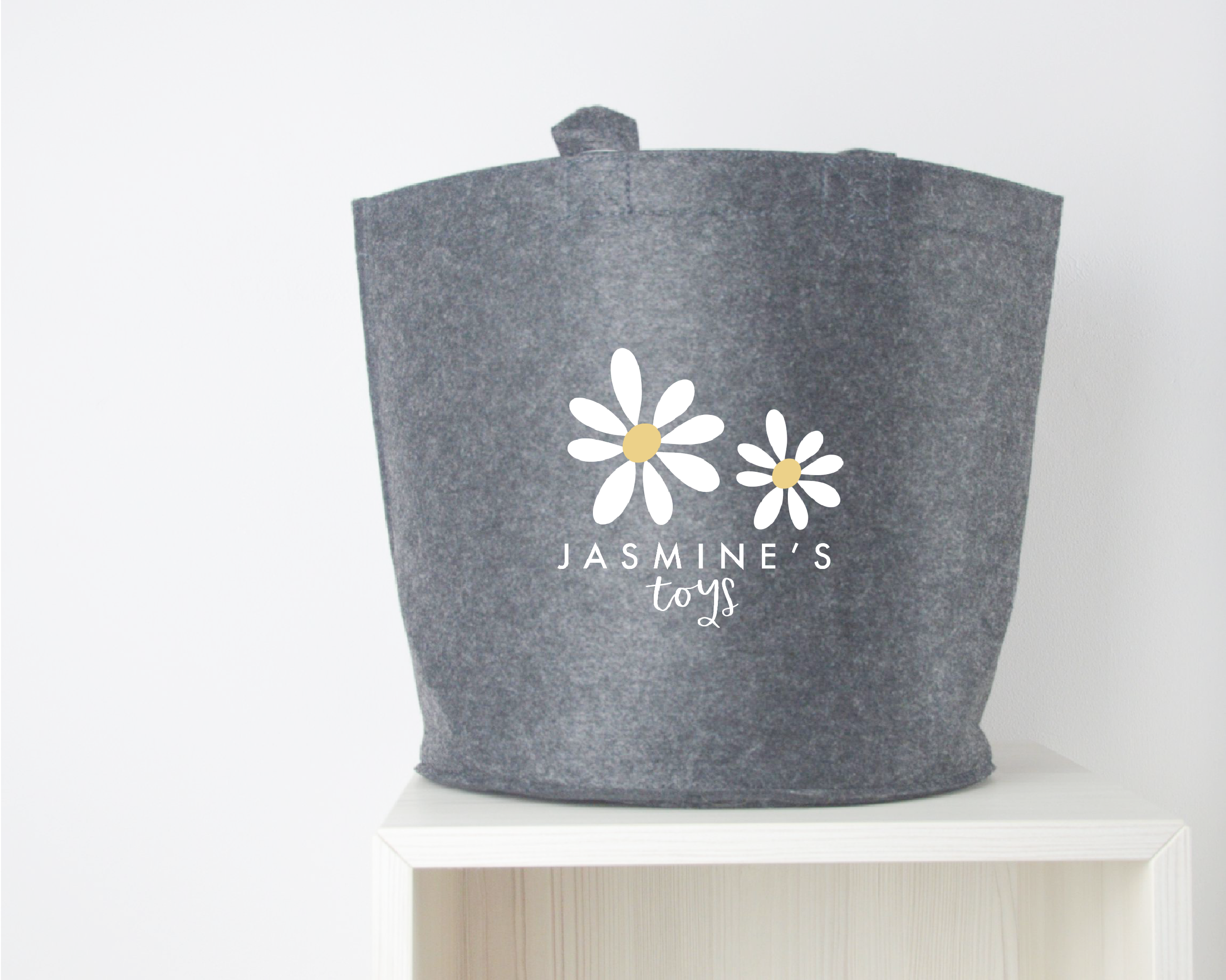 Personalised Daisy Toy Basket - You Make My Dreams
