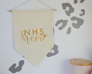 NHS Hero Banner Flag