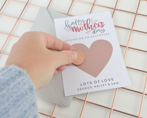 Happy Mother's Day Scratch Card - You Make My Dreams