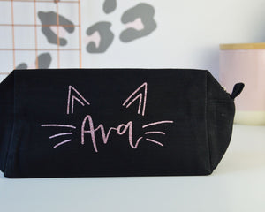 Personalised Cat Pencil Case - You Make My Dreams