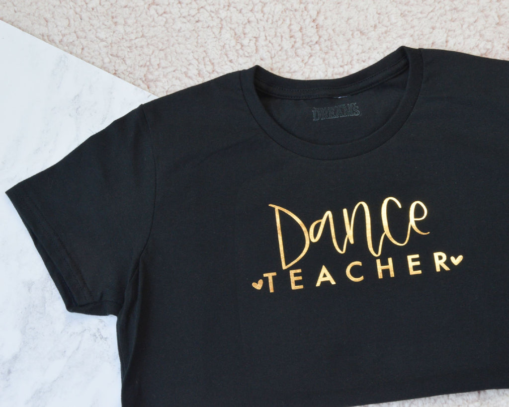 Dance Teacher Top - You Make My Dreams