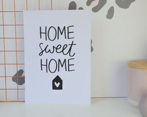 Home Sweet Home Print - You Make My Dreams