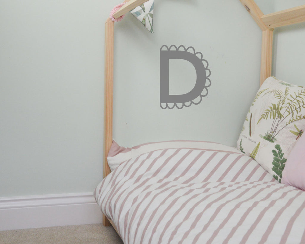 15cm Pretty Letter Wall Stickers - You Make My Dreams