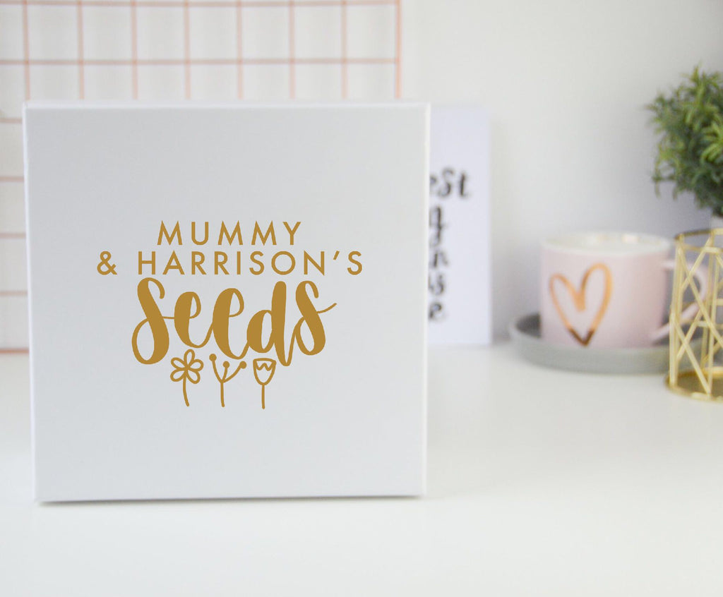 Personalised Seeds Box