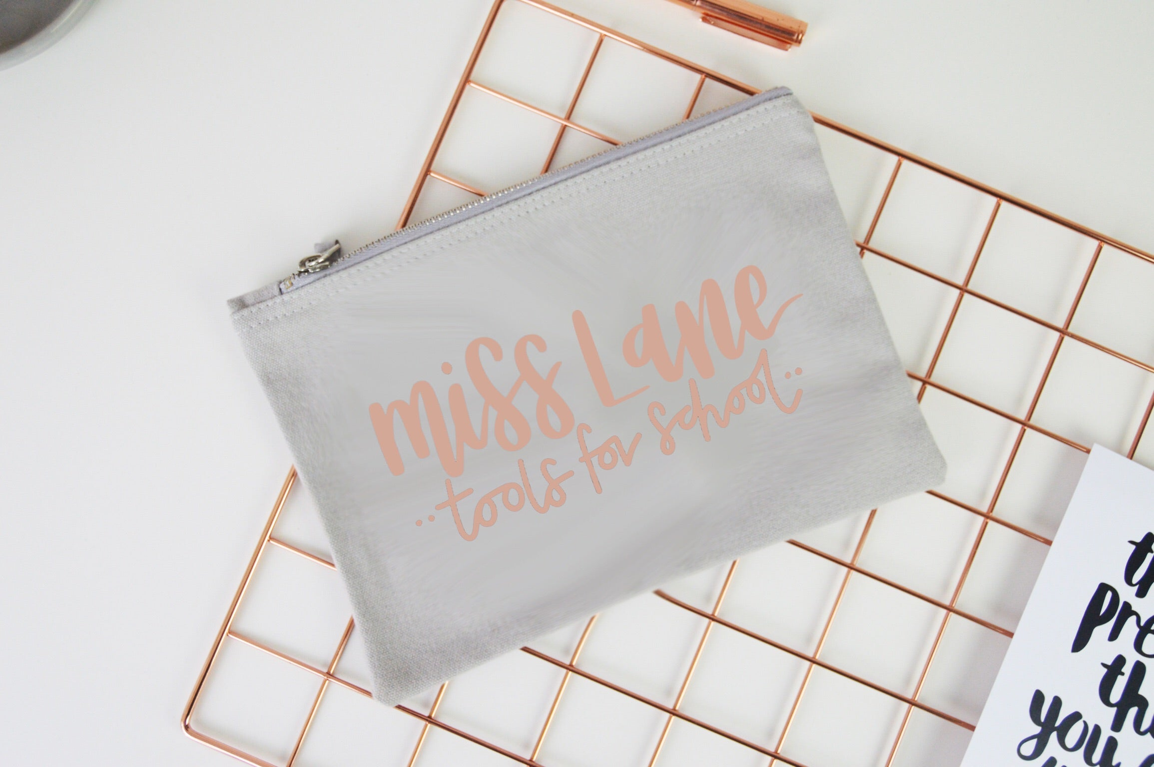 Personalised Teacher Pencil Case - You Make My Dreams