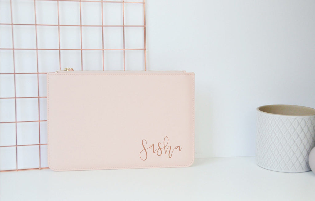Personalised Clutch Bag - You Make My Dreams