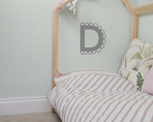 10cm Pretty Letter Wall Stickers - You Make My Dreams