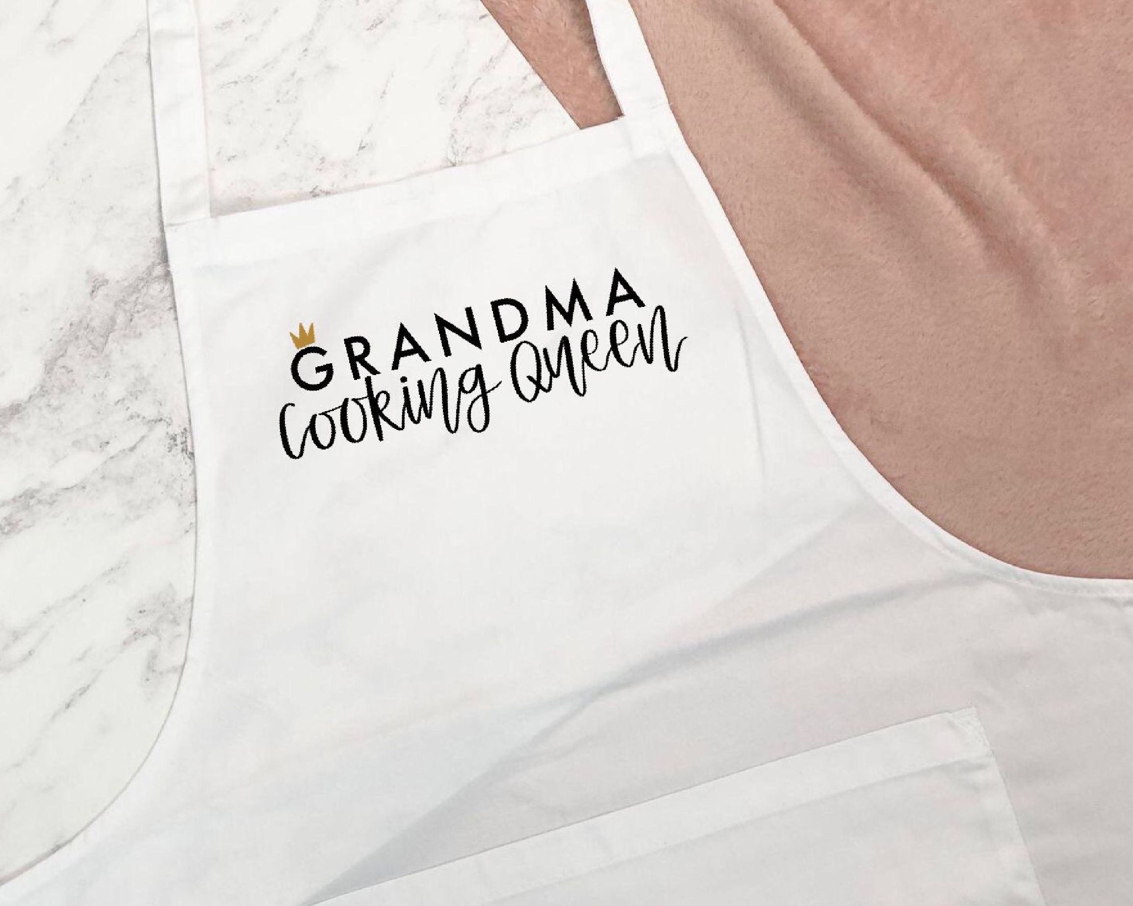 Cooking Queen Apron - You Make My Dreams