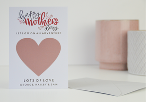 Happy Mother's Day Scratch Card