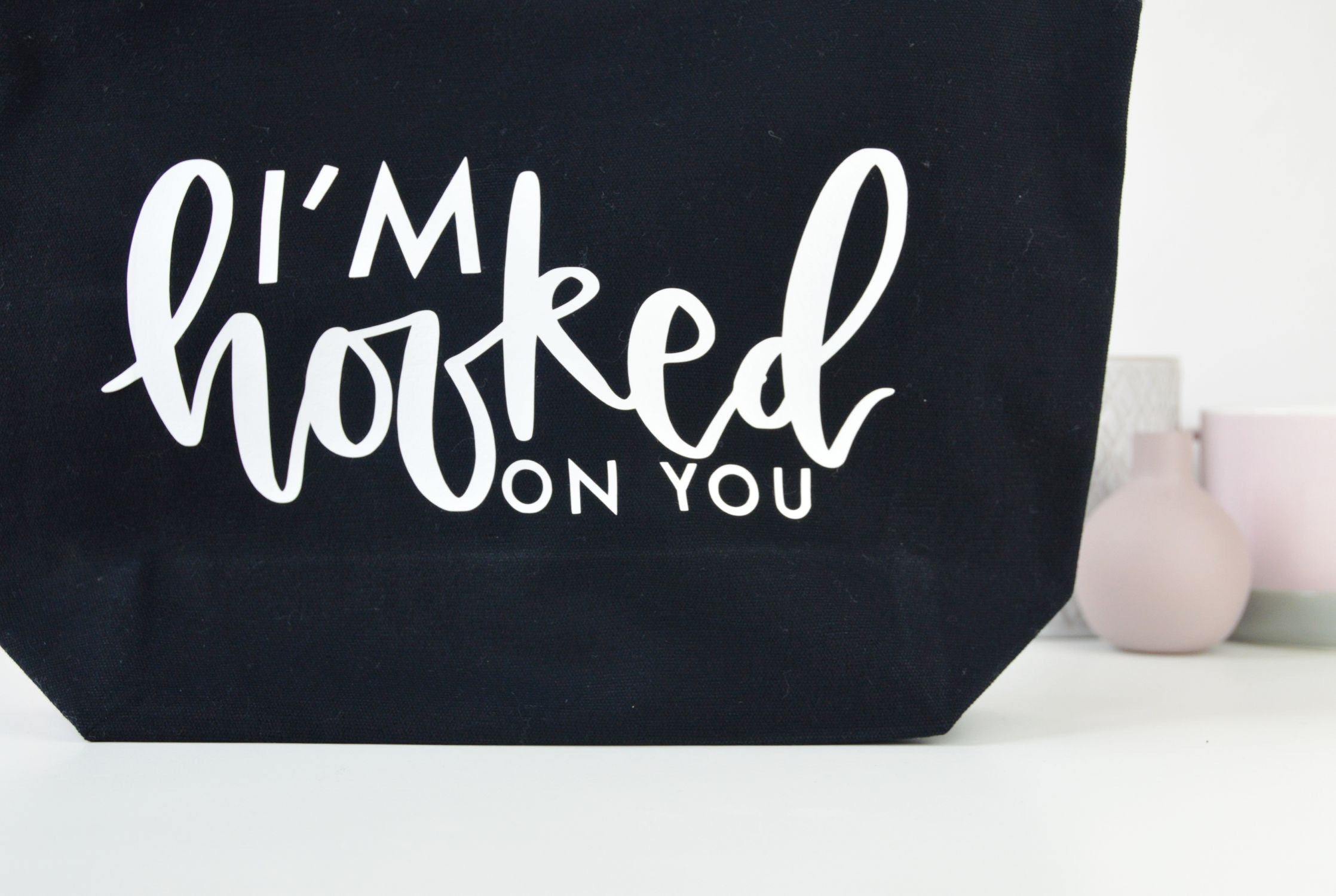 'I'm Hooked On You' Knitting Pouch - You Make My Dreams