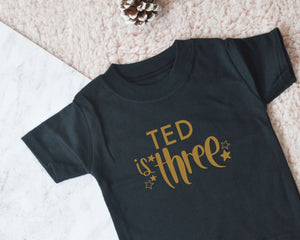 Personalised Boys Birthday Top - You Make My Dreams