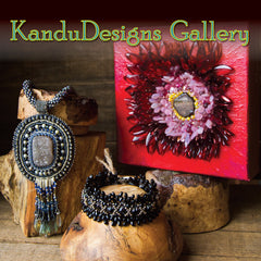 KanduBeads Cheshire Bead Store gallery is filled with unusual artworks from artists all over. for information