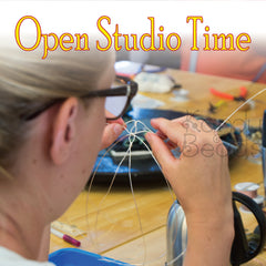Come in and Use Our Tools at KanduBeads Open Studio Time is not a problem
