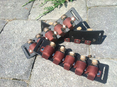 Caleb Hand LARP or Steam Punk Leather accessories using KanduBeads Bottles